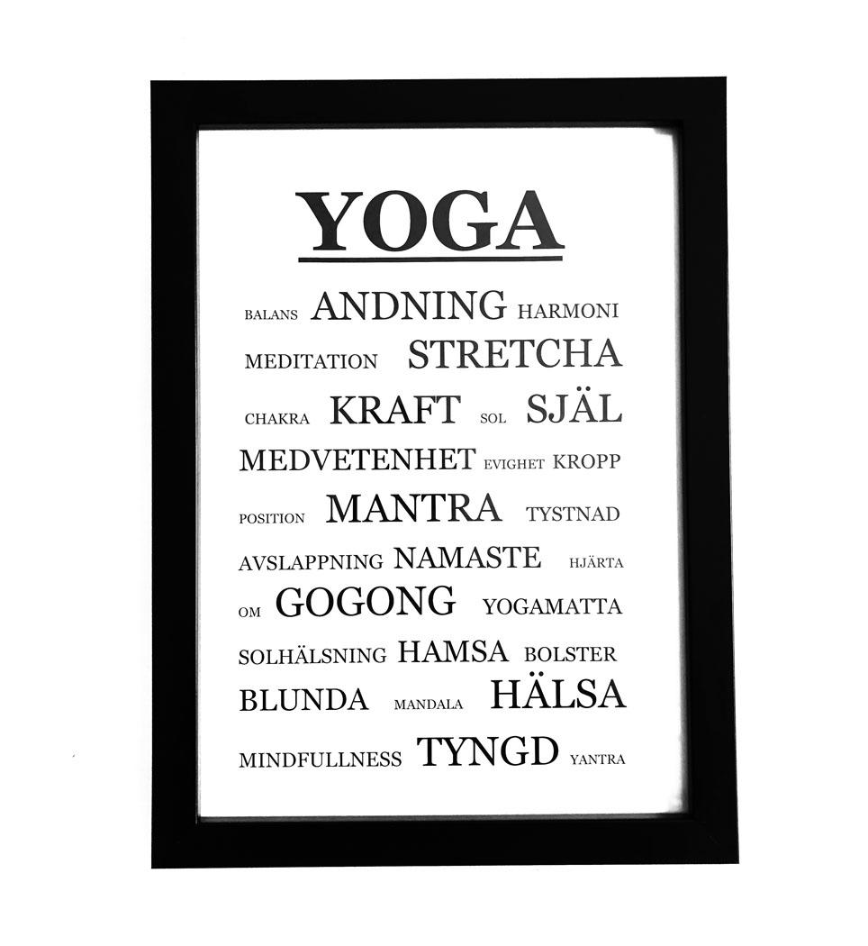yogatavla, tavla yoga, personlig tavla